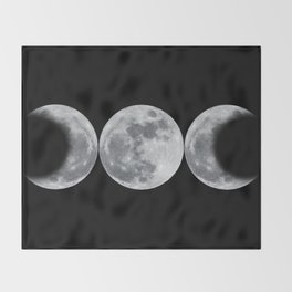 Triple Goddess Throw Blanket