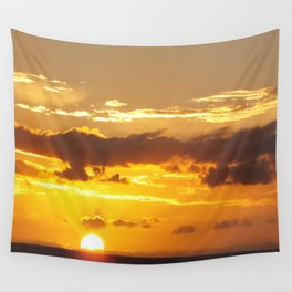 The Sun Sets For Kiah Wall Tapestry