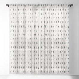 ADOBO RAIN Sheer Curtain