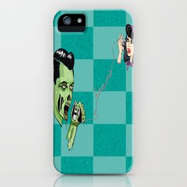 When the Telephone game goes horribly wrong. iPhone Case