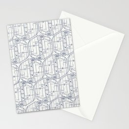 Abstract pattern 4 Stationery Cards