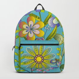 Petty Flowers Pattern 3 Backpack