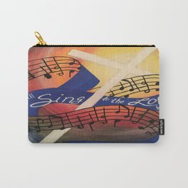 Sing Music Cross Carry-All Pouch