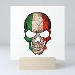 Exclusive Italy skull design Mini Art Print
