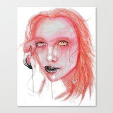 Metamorphosis-flamingo Canvas Print