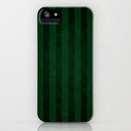 Emerald Stripes iPhone Case
