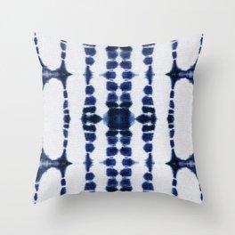 Boho Tie-Dye Knit Vertical Throw Pillow