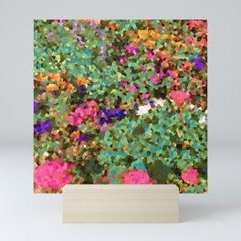 Crystal Flowers Mini Art Print