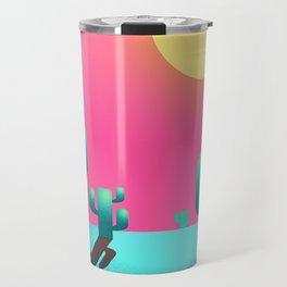 Cactus sunset Travel Mug