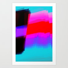 Flagging Art Print