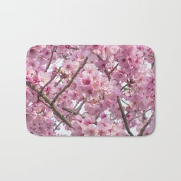 Cherry Blossoms in spring Bath Mat