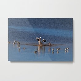 Living with Gusto Metal Print