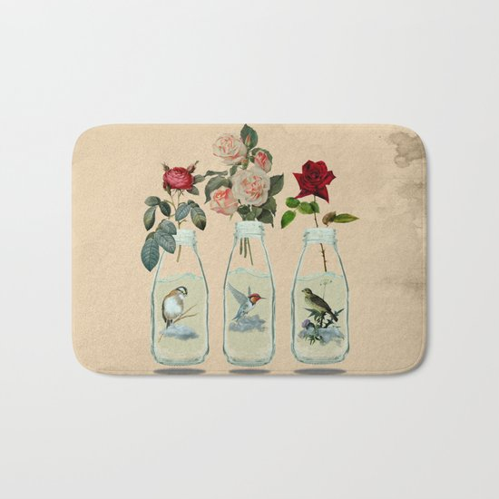 bottled spring Bath Mat