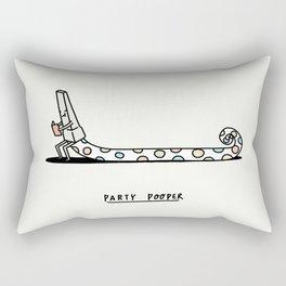 Party Pooper Rectangular Pillow