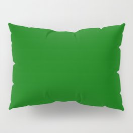 Pakistan Green - solid color Pillow Sham
