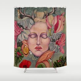 Natures Lament, Any Regrets? Shower Curtain