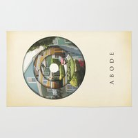 literary Area & Throw Rugs featuring abode by Vin Zzep