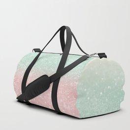 Pastel Summer Glitter #1 (Faux Glitter - Photography) #shiny #decor #art #society6 Duffle Bag