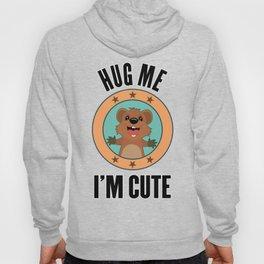 Quokka Australia Kangaroo Marsupial Hug Me Gift Hoody