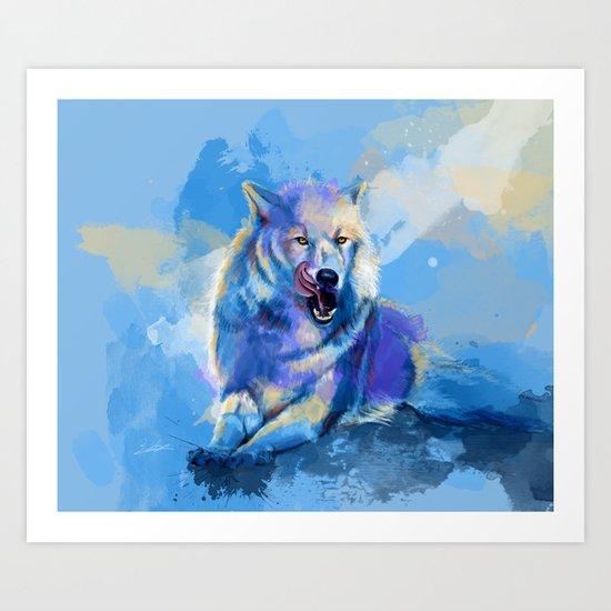 Awaken the Wolf Art Print