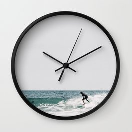 surfer ii Wall Clock