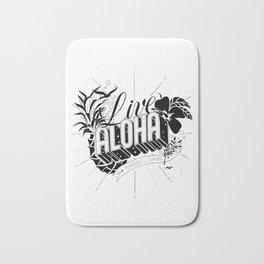 Live Aloha Bath Mat