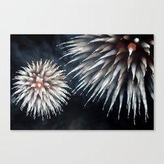 Fireworks - Philippines 10 Canvas Print