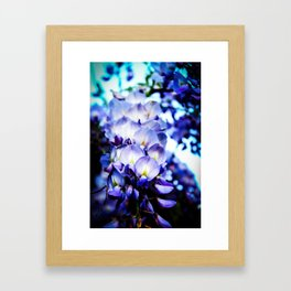 Flowers magic 2 Framed Art Print