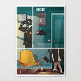 016_archidesign_hans wegner Canvas Print
