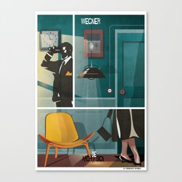 016_archidesign_hans wegner Canvas Print