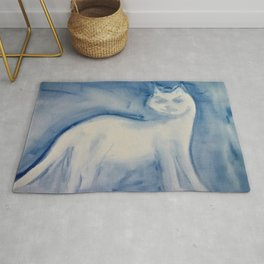 The Fog Comes In On Little Cat Feet Rug