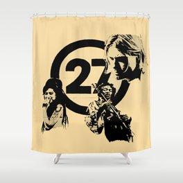 27 club Shower Curtain