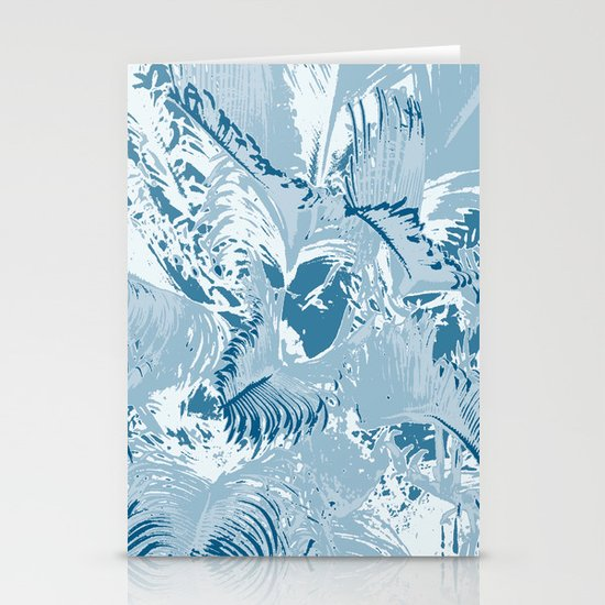 The blue mask Stationery Cards