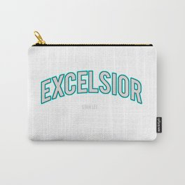 Excelsior, one of the Stan Lee's famous word Carry-All Pouch