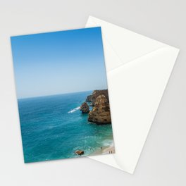 Beach at Lagoa, Algarve, Portugal Stationery Cards