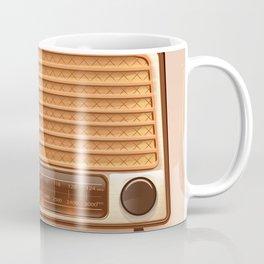 Radio & Whiskey Coffee Mug