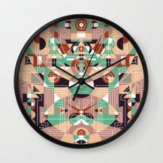 Tribal Technology 1 Wall Clock