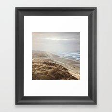 Heceta Beach Framed Art Print