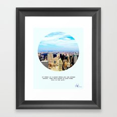 This is New York Framed Art Print