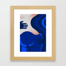 Blue Jeans 2/3 Framed Art Print