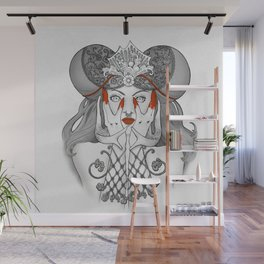 Wrought Iron Witch Wall Mural