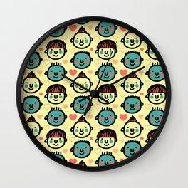 i am glad Wall Clock
