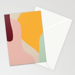 Ziz Abstract Painting Stationery Cards