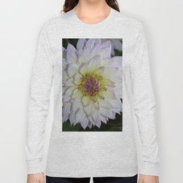 Dahlia Pastel Tones Long Sleeve T-shirt