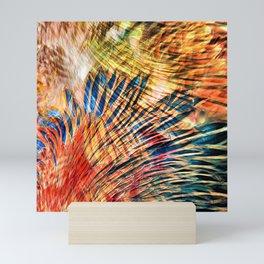 Feather Fantasy I Mini Art Print