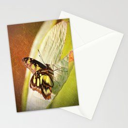 Butterfly - Ready for takeoff Stationery Cards