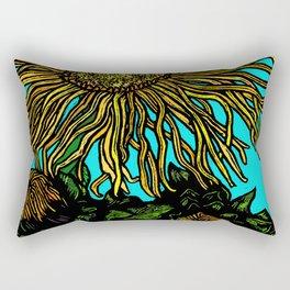 Giant Inula Rectangular Pillow