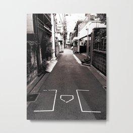 Best alley in Tokyo. Metal Print