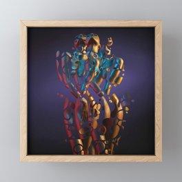 Lux In Tenebris Framed Mini Art Print