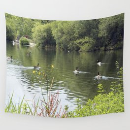 Attenborough Nature Reserve, England II Wall Tapestry